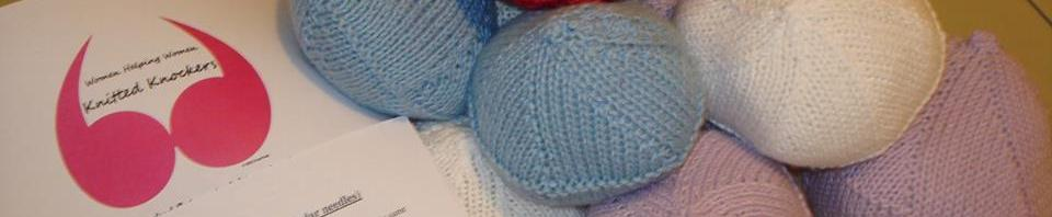 knitted knockers on circular needles